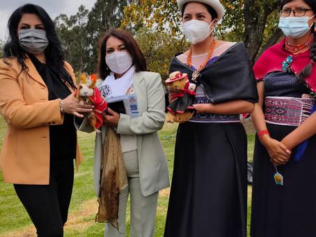 FUNDACIÓN HUMANA ECUADOR: Encuentro de mujeres productoras y emprendedoras