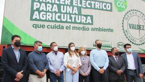 Azucarera Valdez lidera la agricultura sostenible con el primer tráiler eléctrico de Ecuador