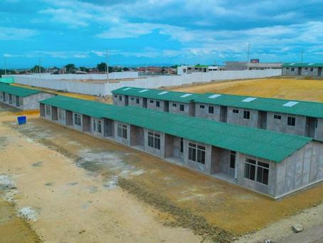 Mutualista Pichincha concluyó la construcción de 100 casas para los damnificados del terremoto