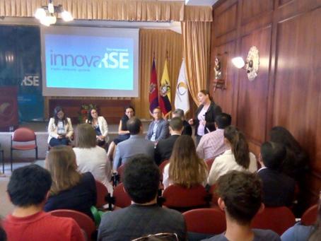CERES presentó ponencia en Foro Empresarial Innovarse