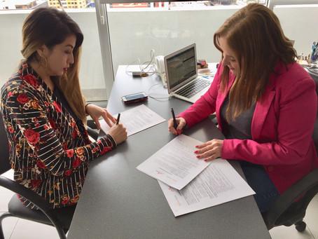 CERES firmó convenio con Programa de Televisión Huella Empresarial