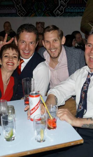 Nicky, Scotty, Rupert, Jim
