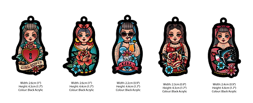 Rockabilly Russian Dolls 🪆