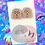 Thumbnail: Champagne Rose Gold Rainbow Studs