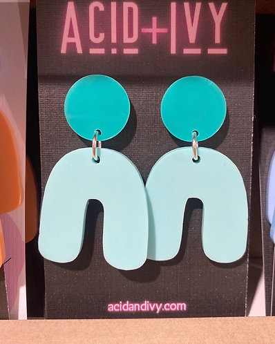 50's Housewife Pastel Dangles