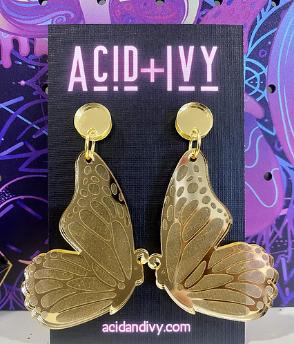 Butterfly Wings in Gold