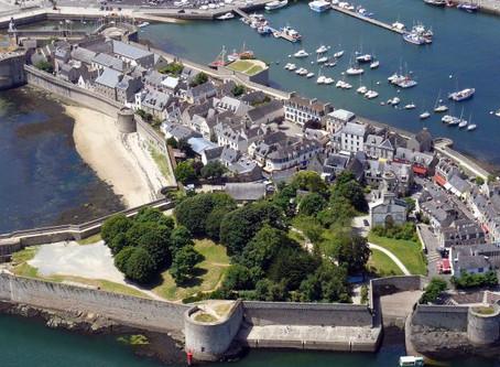Evasion bretonne dans la ville bleue.