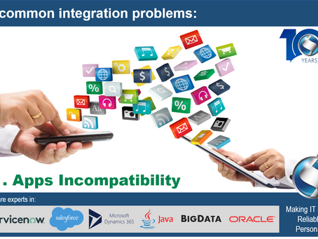 5 common integration problems: Apps Incompatibility