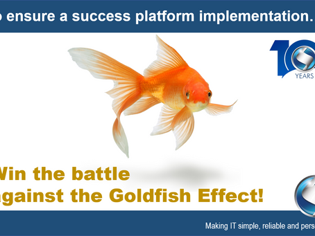 Win the battle against the Goldfish Effect!