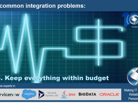 5 common integration problems: Keep everything within budget