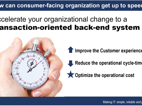 How can consumer-facing organizations get up to speed?