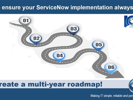 ServiceNow Implementation Roadmap