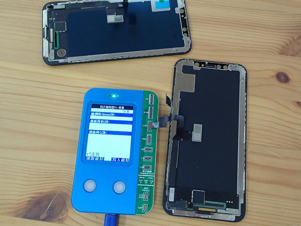 iPhoneXについていた画面にTrueTone情報が無い