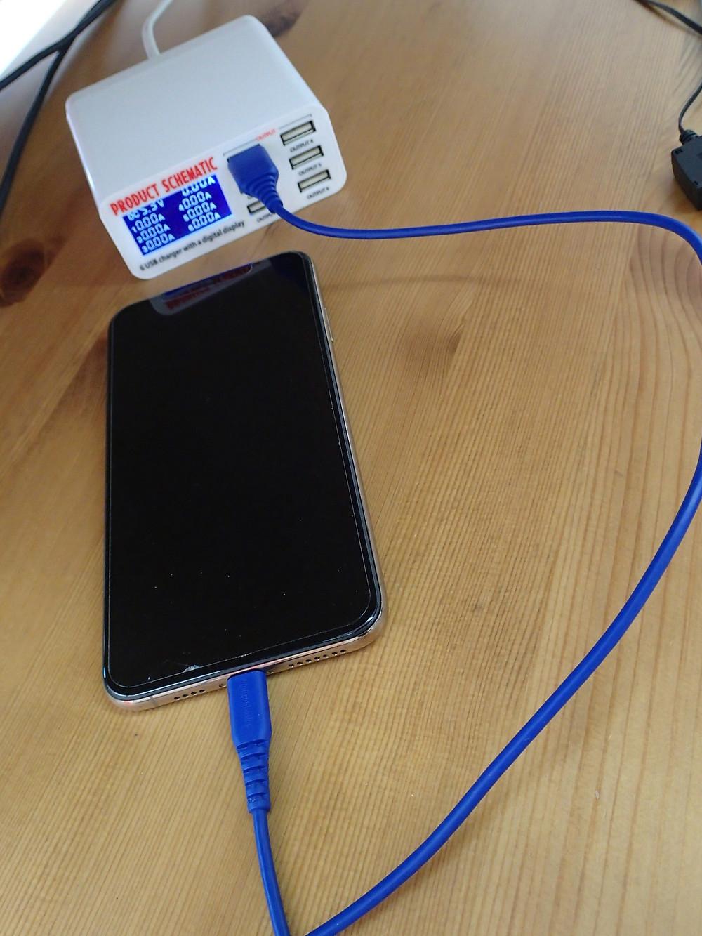iPhoneXsMAX充電していない