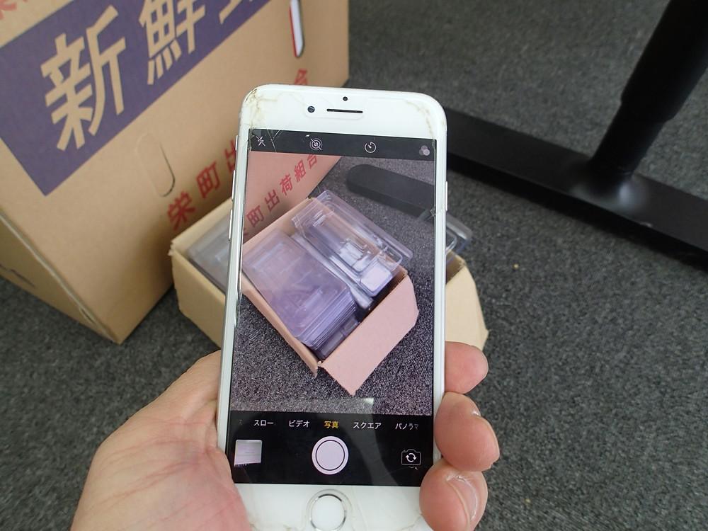 iPhone8背面カメラの交換ご正常に動作