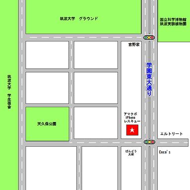 アマクボiPhoneレスキュー地図拡大