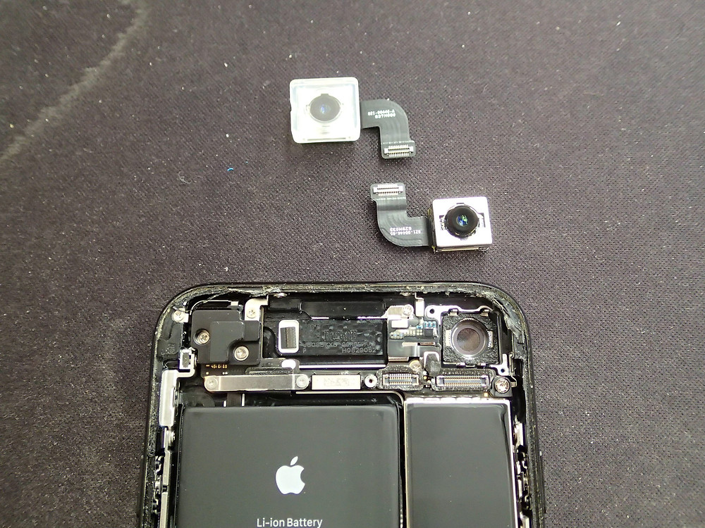 iPhone8リアカメラの交換