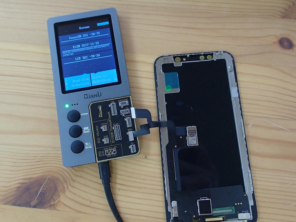 iPhoneXのTrueToneを復活させる作業