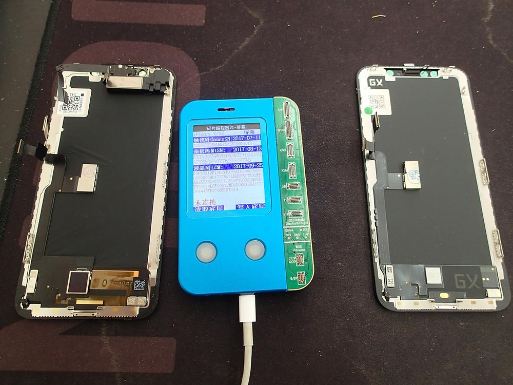 iPhoneX環境光修復してTrueToneが使えるようにする作業