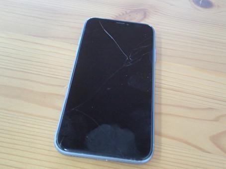 画面表示しなくなってしまったiPhoneXR