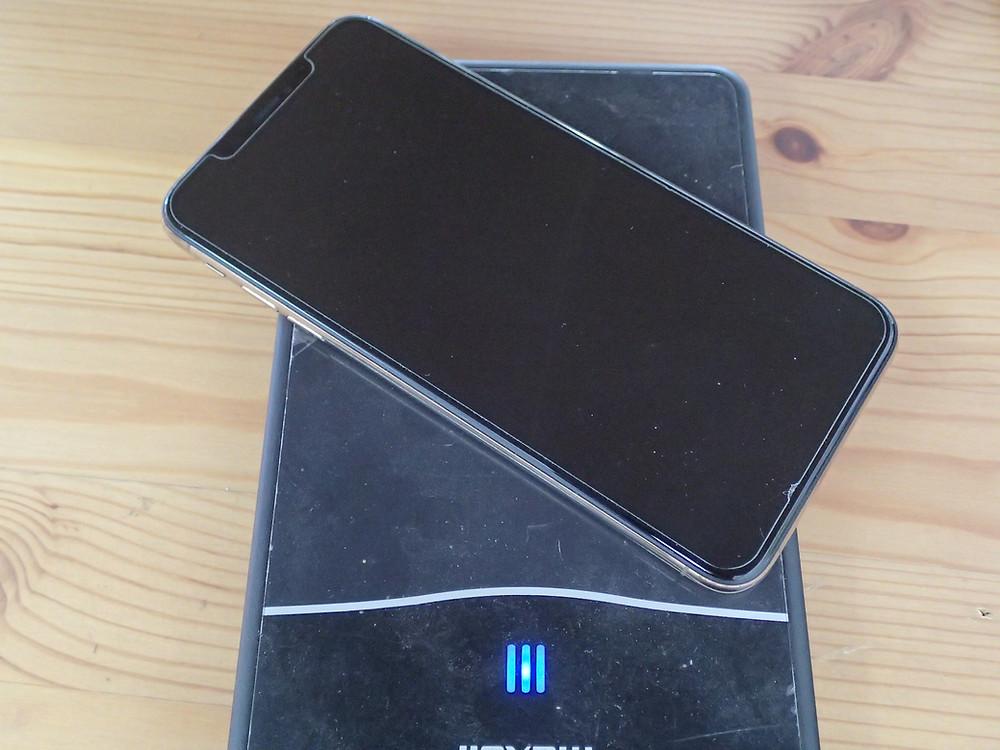 iPhoneXsMAX卓上充電