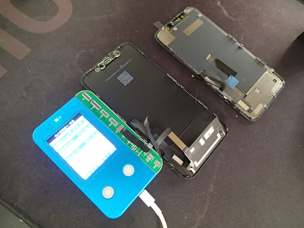 iPhoneXRの環境光修復