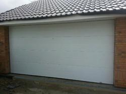 porte de garage sectionnel