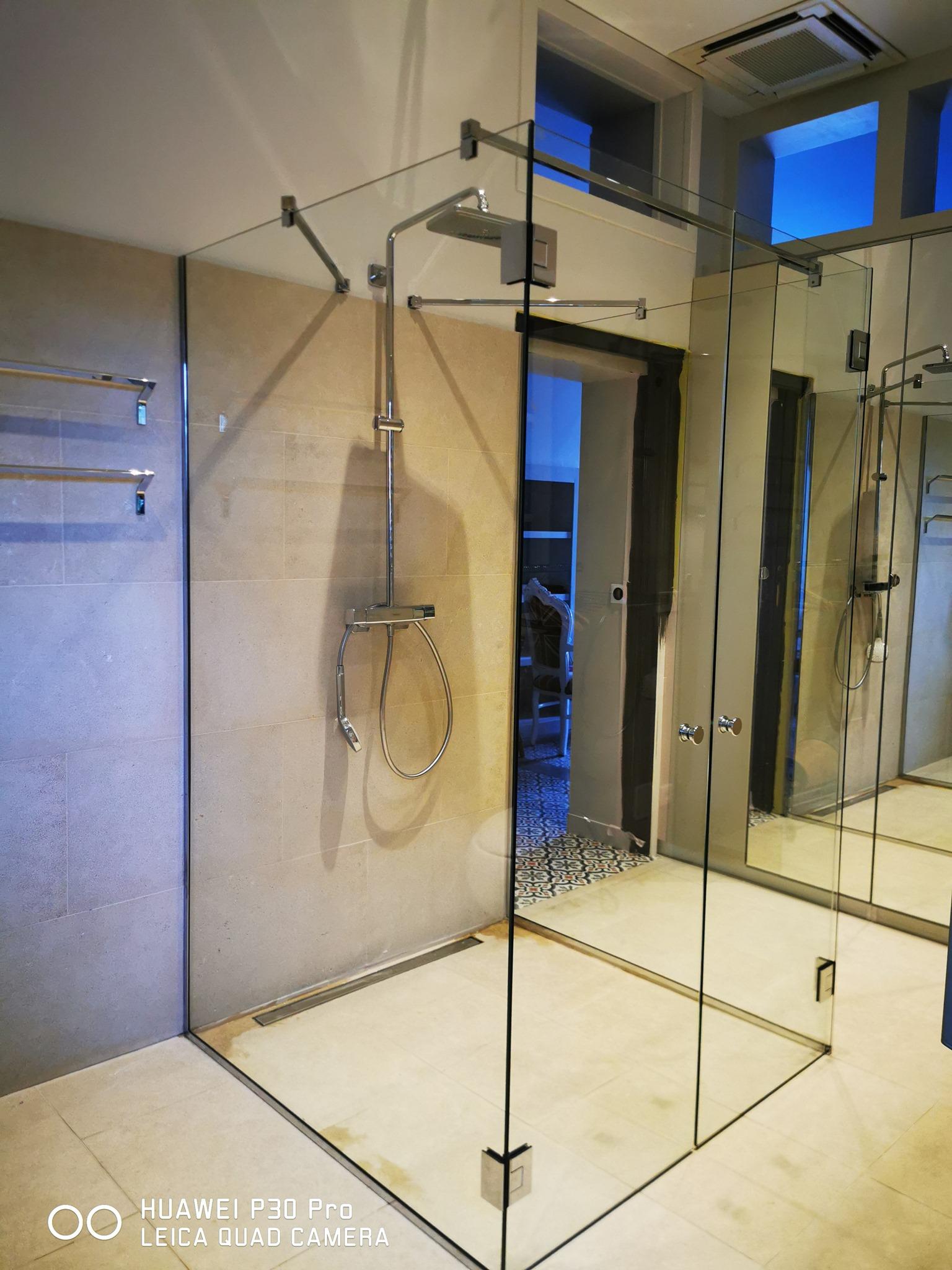 Douche sur mesure