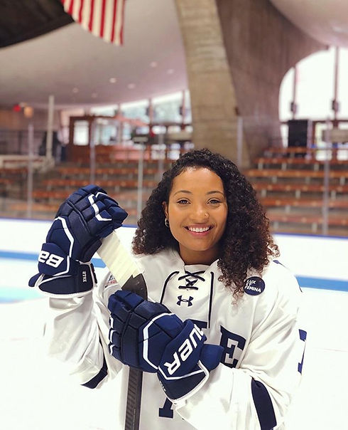 Thank you @yalewhockey for an amazing fo