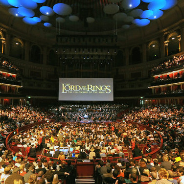 Lord of the Rings live in concert. LPO cond. Ludwig Wicki