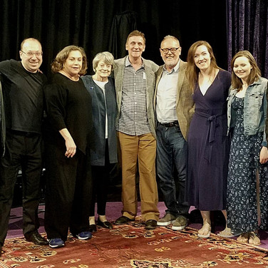 """The """"Finding My Voice"""" team and guests!"""
