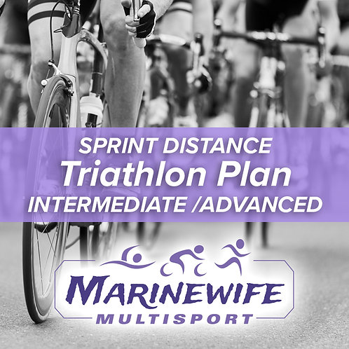 Triathlon Training Plan - Sprint Distance - Advanced