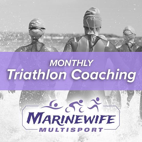 Monthly Triathlon Coaching
