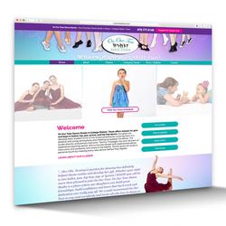 Website Design - Dance Studio