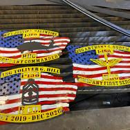 Custom metal military signs