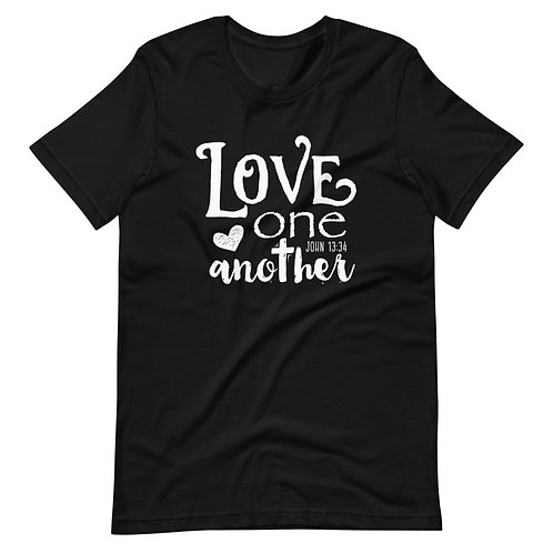 Love One Another T-shirt (cross)