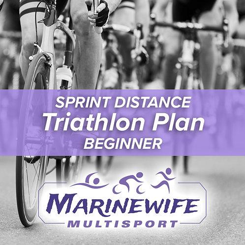 Triathlon Training Plan - Sprint Distance - Beginner