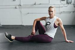 athlete workout clothes