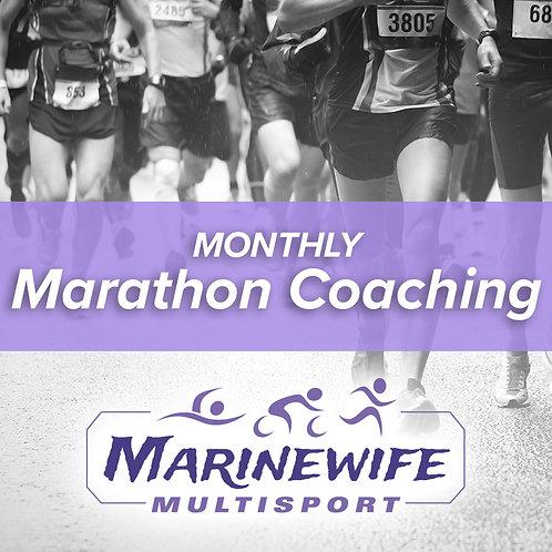 Monthly Marathon Coaching