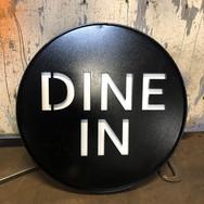 Custom Dine In restaurant sign