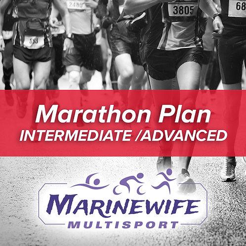 Marathon Training Plan - Intermediate/Advanced