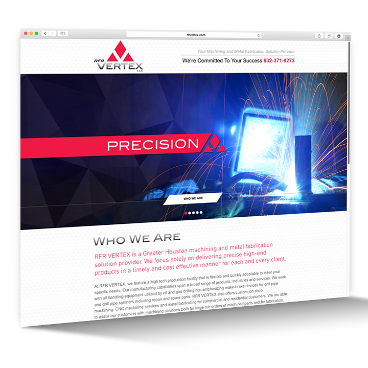 Website Design - Machining