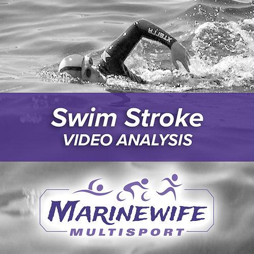 Swim Stroke Video Analysis