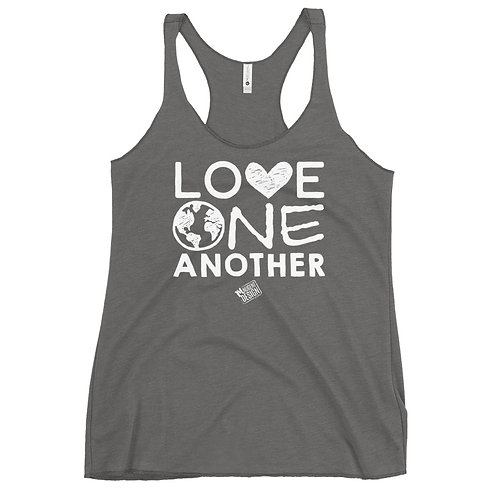 Love One Another Racerback Tank