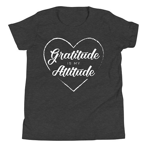 Gratitude is my Attitude T-Shirt for Kids
