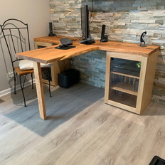 Maple Media Cabinet