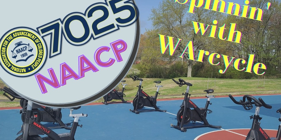Spinning w/ NAACP & WARcycle  - 10:00 am