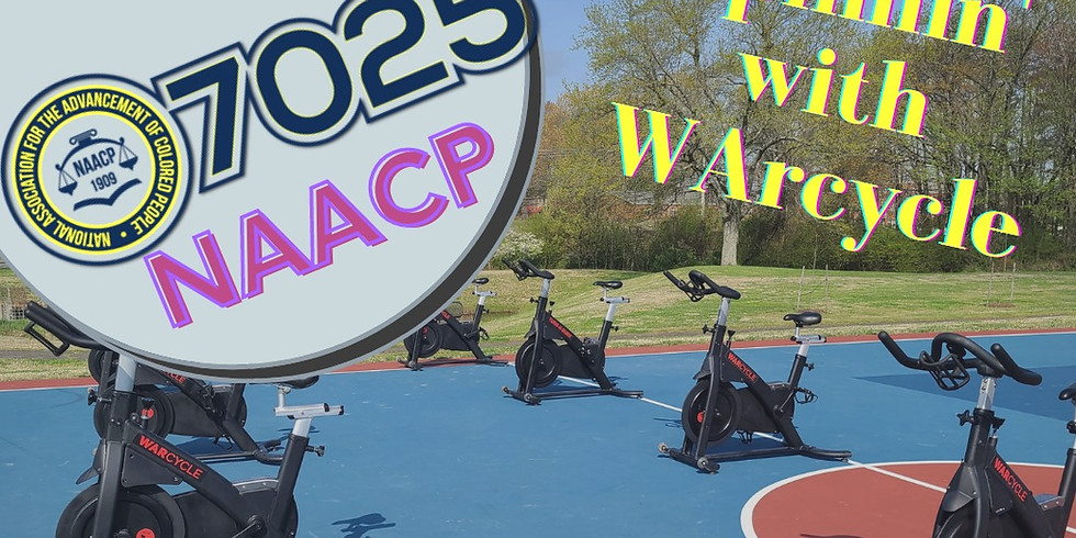 Spinning w/ NAACP & WARcycle  - 8:30 am