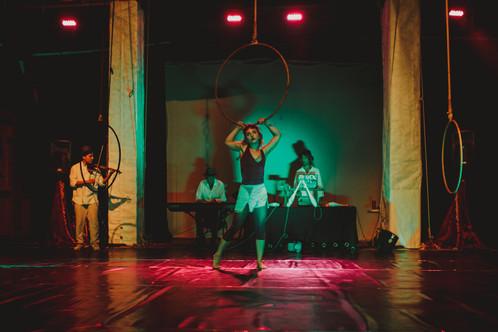 ICÚ x Contemperary Circus Musicians: Miguel Fajardo, Pedro Dabdoub, El Inti   Andrea Fanni Photography