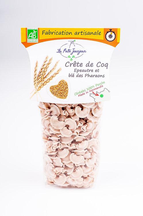 Pates Crête de Coq - Épeautre et blé des Pharaons